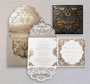 ceci new york invitations new york ny weddingwire With luxury wedding invitations nj