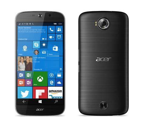 acer mobile acer liquid m330 windows 10 mobile device coming to us