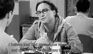 Pin on Big Bang... Leonard Community Quotes