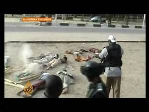Nigeria security forces kill 'unarmed civilians' - YouTube