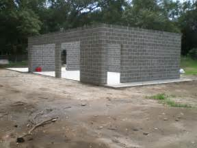 craftsman floor plan cement block house plans