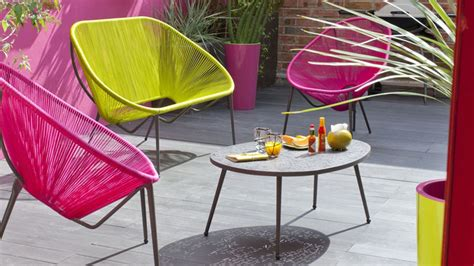 chaise de salon de jardin chaise longue salon de jardin
