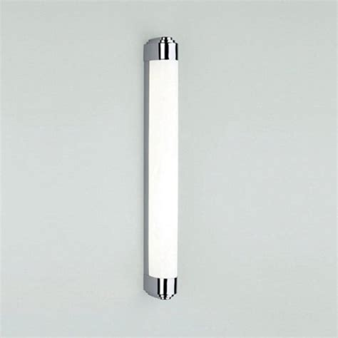 art deco style low energy bathroom wall light for using