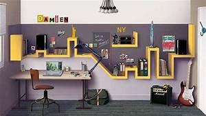 Etagere Chambre Ado : une chambre d ado trendy recr er chez vous kids co pinterest tag res murale ado et york ~ Teatrodelosmanantiales.com Idées de Décoration
