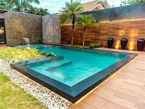 epingle par ingrid camargo sur espaco gourmet e lazer With lovely amenagement terrasse piscine exterieure 3 piscine exterieur 90 photos et idees inspirantes