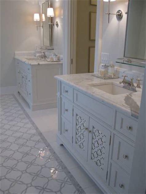 master bath rug ideas gray mosaic tile traditional bathroom phoebe howard