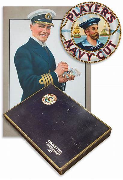 Players Navy Cut Cigarette Tin Cigarettes Player