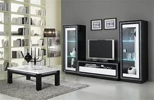 Armoire Television Salon Meuble De Tele En Verre Trendsetter