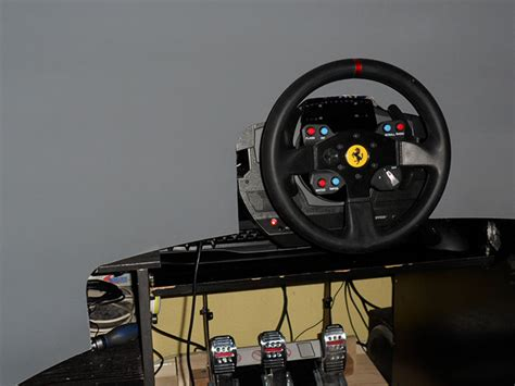 diy wraparound screen gt racing simulator