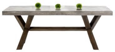 Transitional Living Room Chairs by Modrest Urban Concrete Rectangular Dining Table
