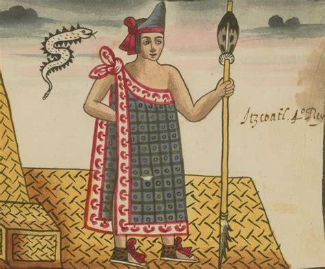 itzcoatl  fourth aztec king reigned  world