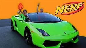 Lamborghini NERF Trick Shot Challenge - YouTube