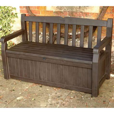 Storage Bench by Iceni Storage Bench Brown 17190198 Garden Furniture