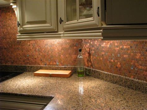 kitchen mosaic backsplash ideas 20 amazing diy projects you can do with pennies architecture design