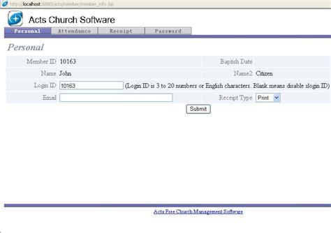 church management software  windows