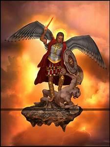 St. Michael v. Satan WIP-02 by Empyrean-DesignWorks ...
