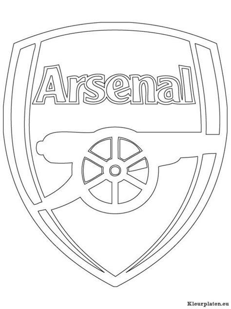 Kleurplaat Arsenal by Arsenal Kleurplaat 904709 Kleurplaat