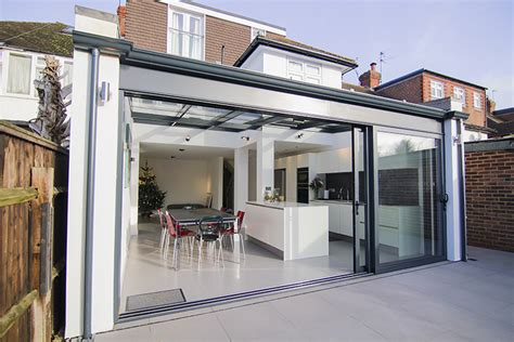 contemporary aluminium conservatory kingston upon thames