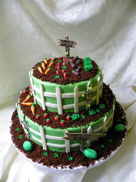 vegetable garden birthday cake cakecentralcom