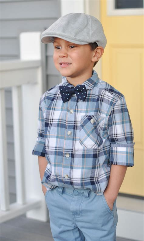 A cute wearable Easter style for boys with Dapper Jr.