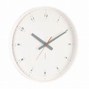 Buy modern white wall clock online purely wall clocks for Modern white wall clock