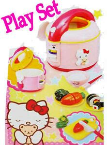 Hello Classic Kitchen Play Set by Hello Kitchen Play Set Kitchenware Rice Cooker Ebay