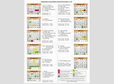 District Calendar 20182019 Calendar Overview