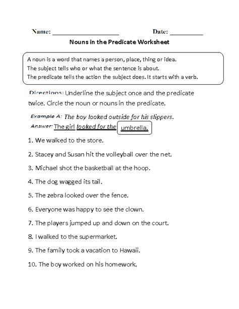 Nouns Worksheets  Regular Nouns Worksheets