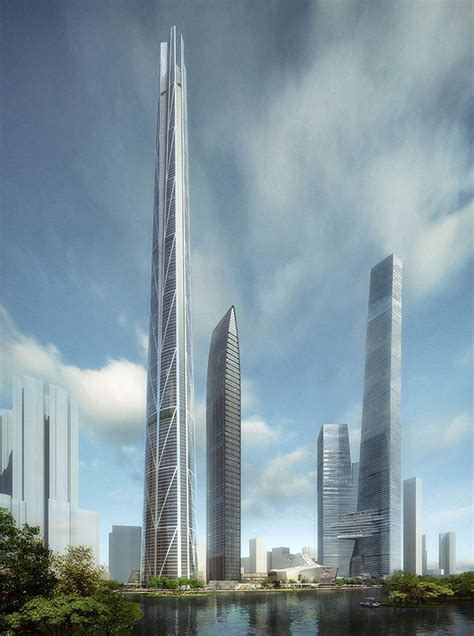 bkl architecture  shenzhen tower china tallest