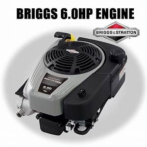 Genuine Briggs  U0026 Stratton 6hp Ohv Lawn Mower Engine