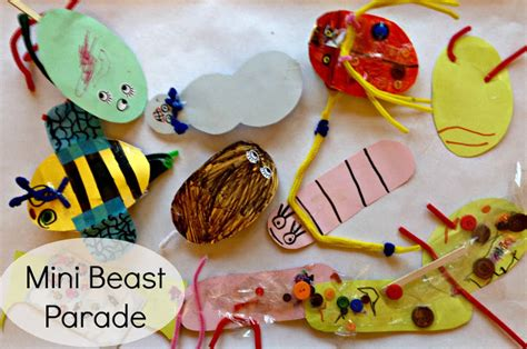 Mini Beasts Crafts For Preschoolers  Fun Crafts Kids