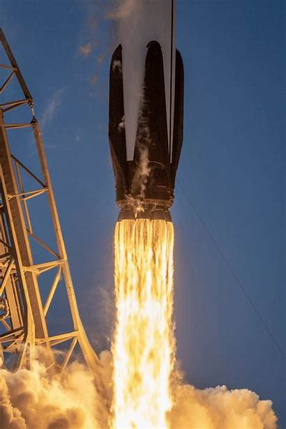 Falcon Space Rocket Launch Spacex Closeup Captures