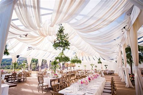The 10 Things You Must Do If Youre Having A Tent Wedding