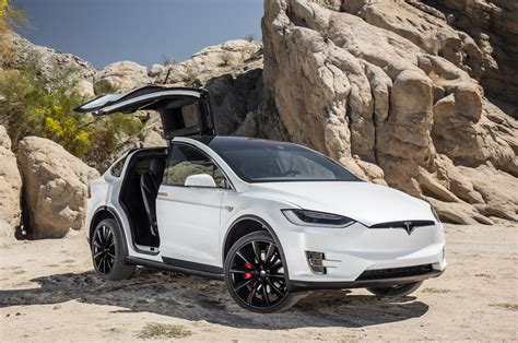 tesla suv doors ford paid almost 200 000 for its own tesla model x p90d
