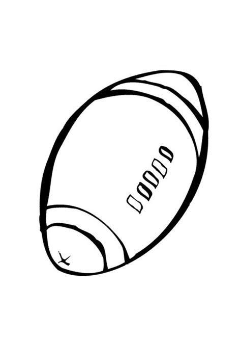 Rugby Kleurplaat by Kleurplaat Rugbybal Afb 10398