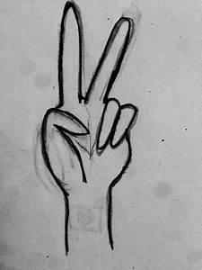 Peace Hand Sign Anime | www.pixshark.com - Images ...