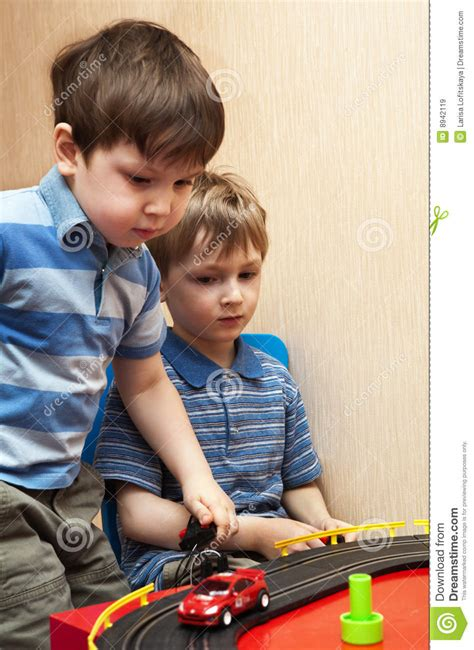 kid play car children play toy cars stock image image of people care