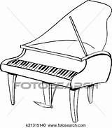Harpsichord Coloring Pages Results sketch template