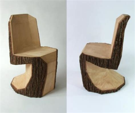 from log to keyboard stools and stylish chairs made of