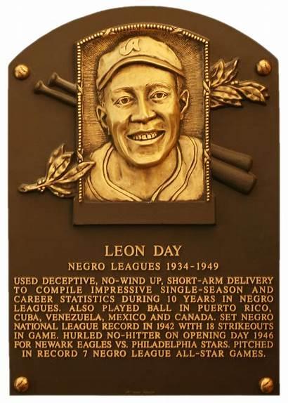 Leon Baseball Fame Hall Plaque Hof Statistics