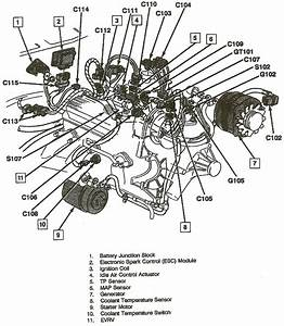 Where Is The Esc Module Located On A 1992 Gmc S15 Jimmy