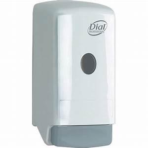 Dial Professional 800ml Liquid Soap Push Dispenser