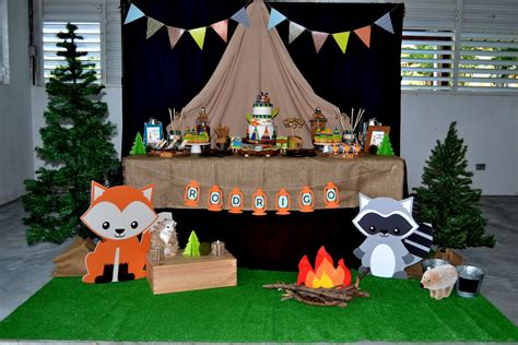 Partylicious Events PR: {Woodland Camping Birthday}