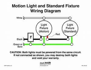 5 best images of motion sensor diagram wire motion With sensor light wiring