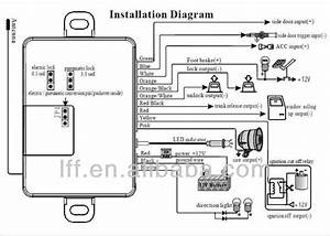 Giordon Car Alarm Wiring Diagram