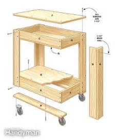 how to build a kitchen island cart rolling tool box cart plans the box on the side and