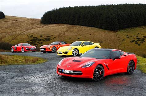 Chevrolet Corvette C7 Stingray Vs Porsche