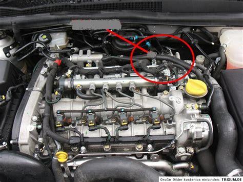 bild montage gluehkerzen zdth opel motoren