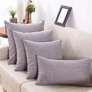 1pc, Multi, Size, Simple, Fashion, Throw, Pillow, Cases, Linen, Decorative, Pillows, For, Sofa, Seat, Cushion