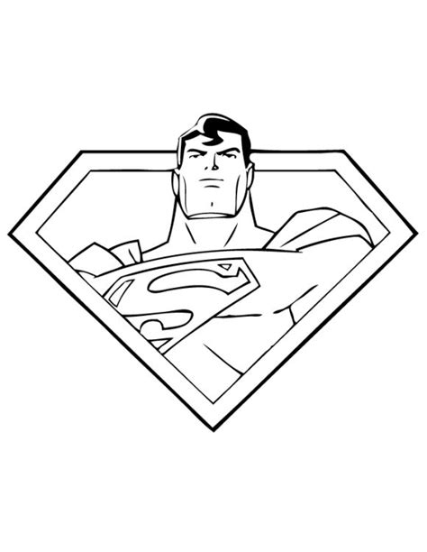 cool superman coloring pages kids printable gianfredanet